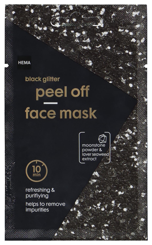 HEMA Masker Peel Off Glitter Zwart 10ml