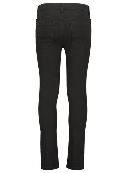 kinderbroek skinny zwart zwart - 1000017028 - HEMA
