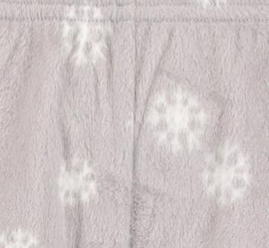 dameslegging fleece grijsmelange grijsmelange - 1000017384 - HEMA