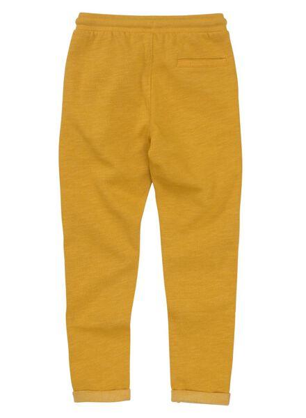 kinder sweatbroek geel geel - 1000011031 - HEMA