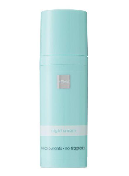 nachtcrème - gevoelige huid - 17820016 - HEMA