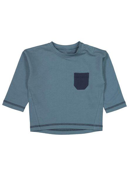 babysweater blauw blauw - 1000017166 - HEMA