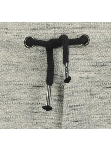 kinder sweatbroek grijsmelange grijsmelange - 1000016746 - HEMA