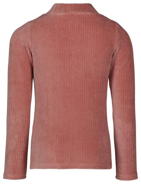 kinder top corduroy roze 110/116 - 30867545 - HEMA