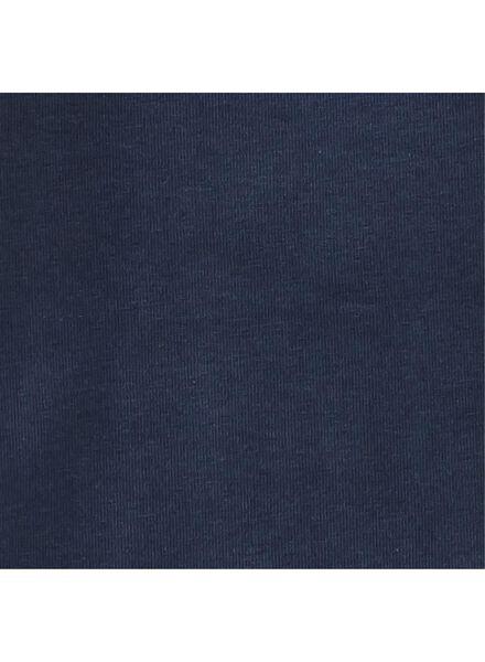 romper organic katoen stretch donkerblauw donkerblauw - 1000011276 - HEMA