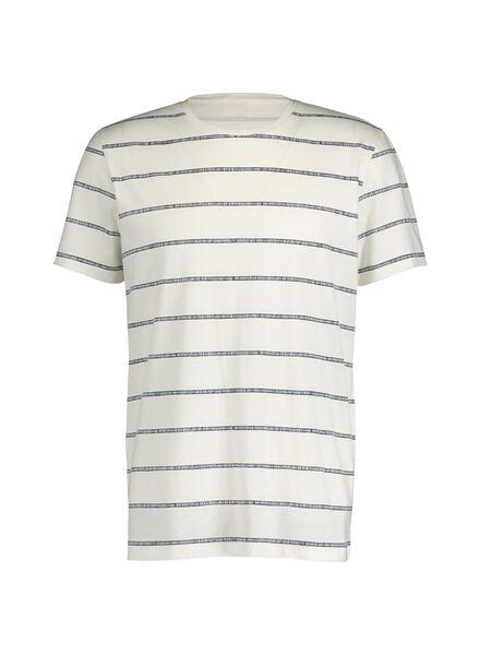heren t-shirt wit wit - 1000014398 - HEMA