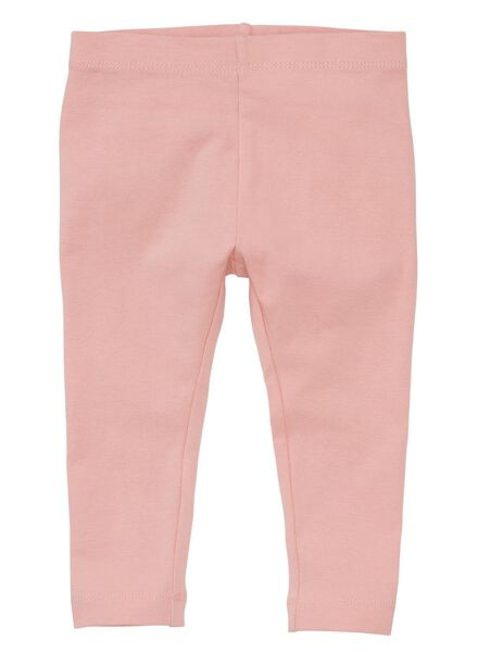 2-pak baby leggings roze roze - 1000008460 - HEMA
