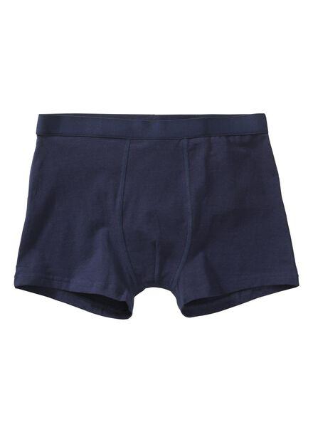 3-pak heren boxers blauw blauw - 1000001224 - HEMA