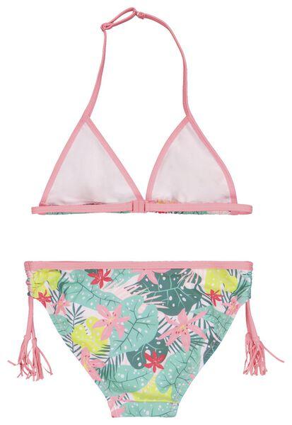 kinder bikini bloemen multi 134/140 - 22260907 - HEMA