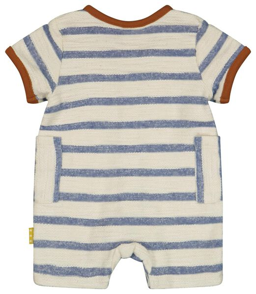 newborn jumpsuit streep wit wit - 1000024247 - HEMA
