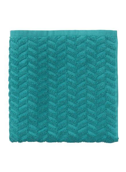 baddoek zware kwaliteit 50 x 100 - donkergroen - 5240201 - HEMA