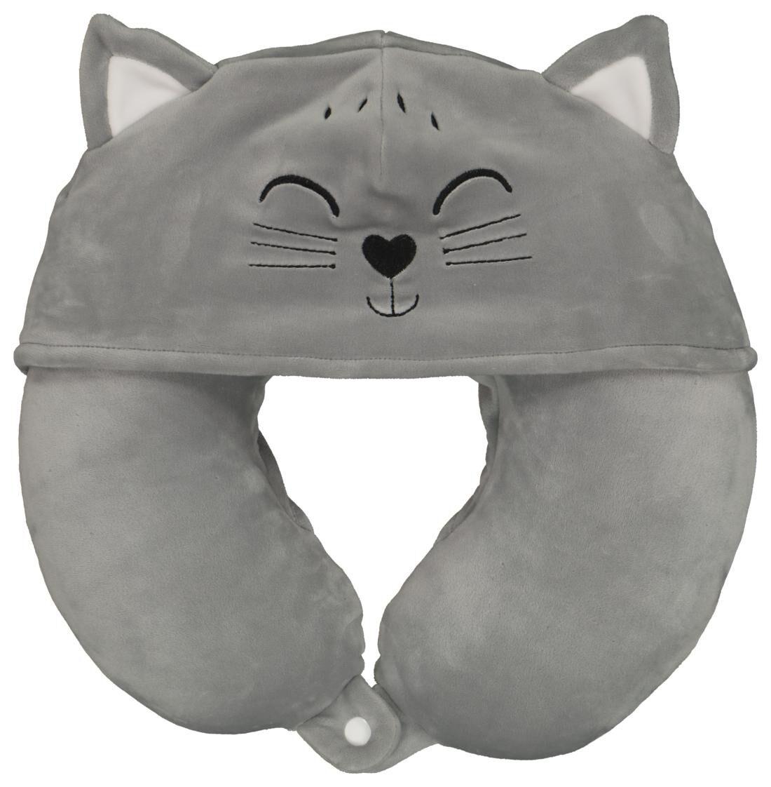 HEMA Nekkussen Met Capuchon Kat