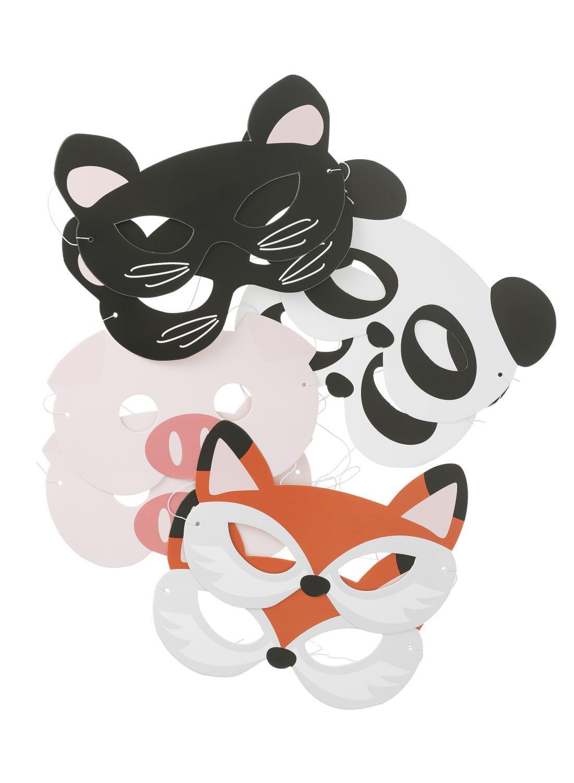 HEMA 8-pak Papieren Maskers (multicolor)