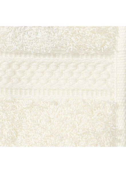 gastendoek - 30 x 55 cm - zware kwaliteit - ecru uni - 5252601 - HEMA