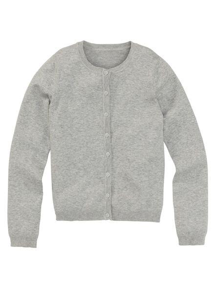 kindervest grijsmelange grijsmelange - 1000002994 - HEMA