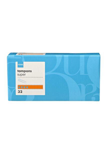 tampons super - 11500006 - HEMA