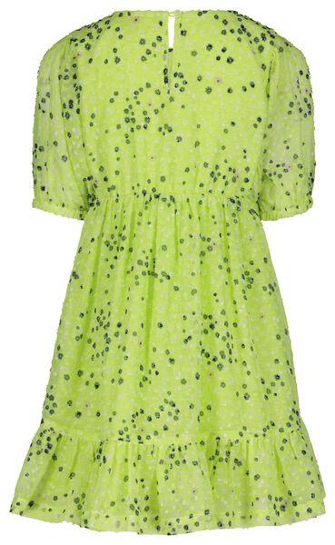 kinderjurk bloem groen groen - 1000023322 - HEMA