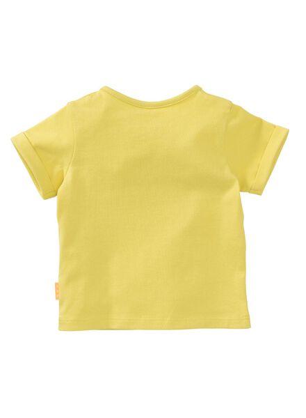 baby t-shirt geel - 1000007678 - HEMA