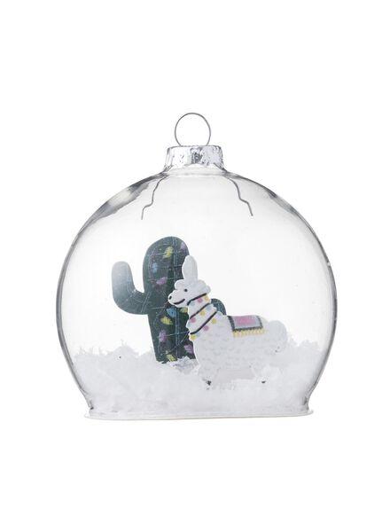 glazen kerstbal - 25100012 - HEMA