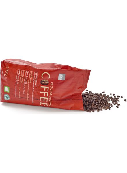 koffiebonen regular - 1 kg - 17100024 - HEMA