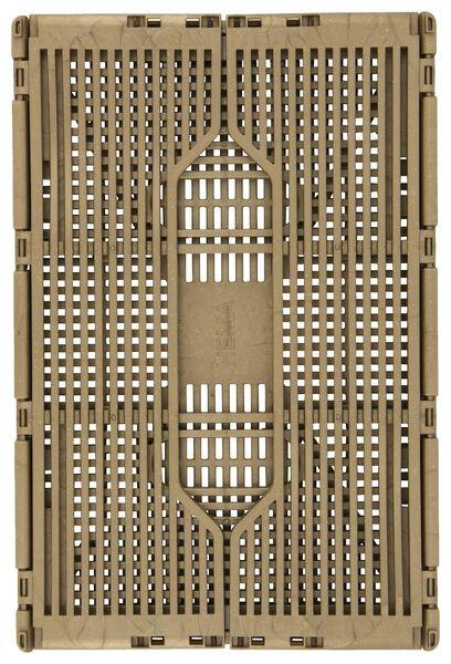 klapkrat letterbord recycled 20x30x11.5 goud - 25140052 - HEMA