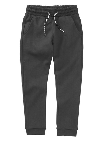 kinder sweatbroek zwart zwart - 1000004031 - HEMA