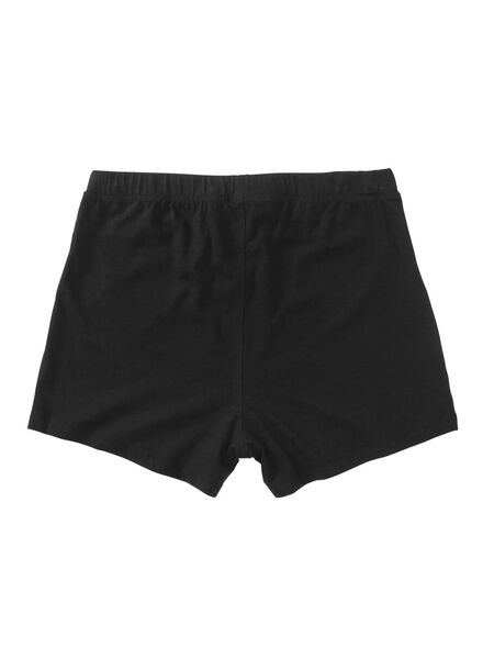 2-pak herenboxers jersey zwart zwart - 1000009662 - HEMA