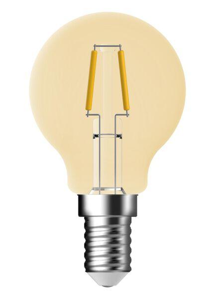 LED kogellamp goud helder 1,2 watt - kleine fitting - 100 lumen - 20090046 - HEMA