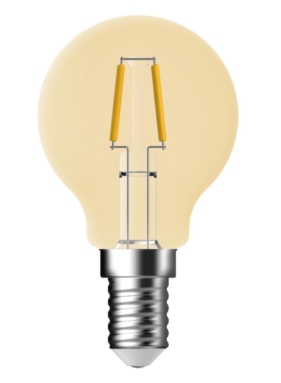 LED Kogellamp Goud Helder 1,2 Watt   Kleine Fitting   100 Lumen