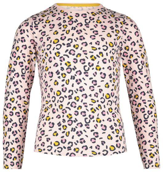 kinderpyjama luipaard roze roze - 1000020656 - HEMA