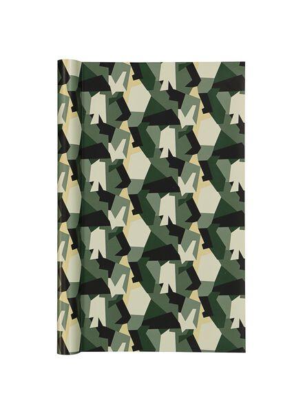 kaftpapier - groen camouflage - 14501249 - HEMA