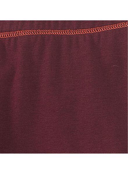 kinderlegging donkerrood donkerrood - 1000008736 - HEMA