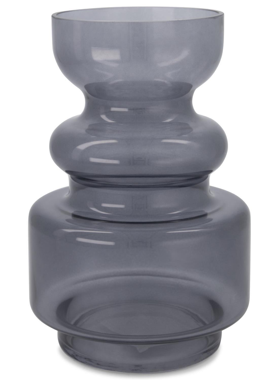 HEMA Vaas - 24 X Ø 16 Cm - Grijs Transparant (grijs)