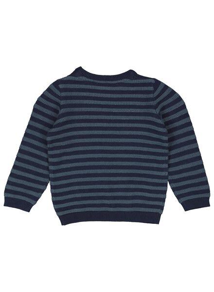 babytrui blauw blauw - 1000016914 - HEMA