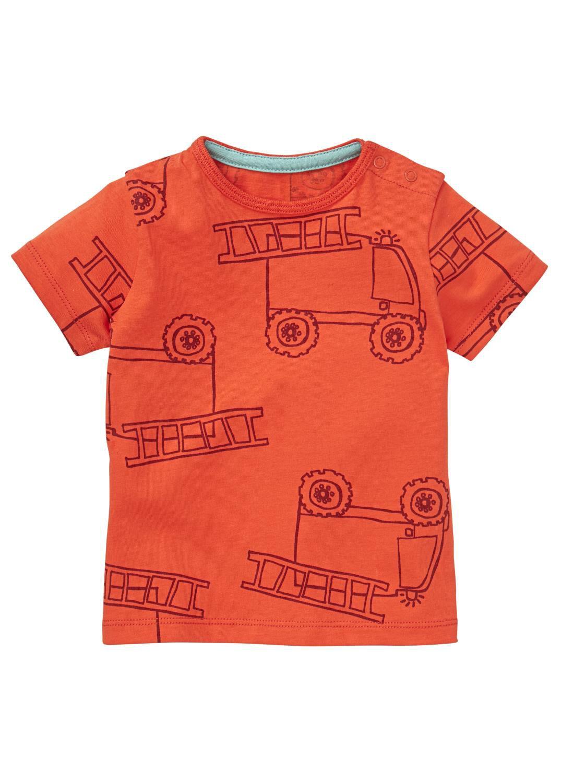 HEMA Baby T-shirt Rood (rood)