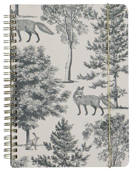 notitieboek A5 - gelinieerd - 14126682 - HEMA