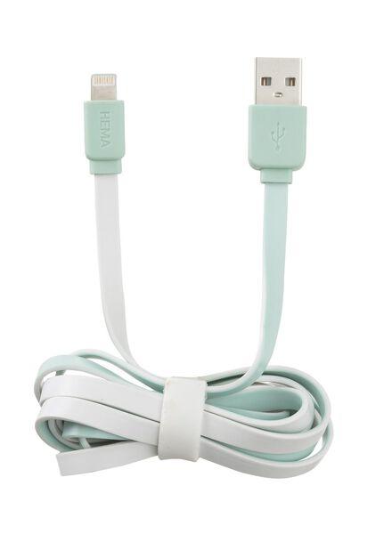 USB laadkabel 8-pins 1.5 meter - 39610053 - HEMA
