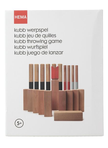 kubb werpspel - 15860376 - HEMA