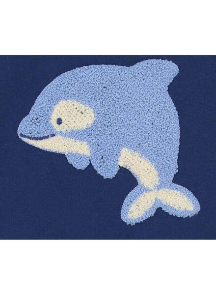 babysweater donkerblauw donkerblauw - 1000017341 - HEMA