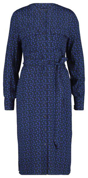 damesjurk donkerblauw donkerblauw - 1000020994 - HEMA