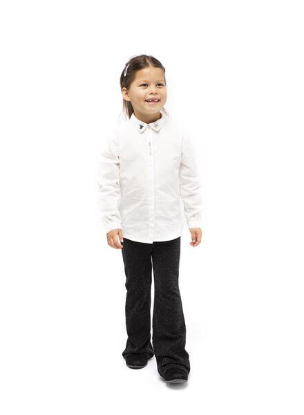 kinder flared broek zwart zwart - 1000016971 - HEMA
