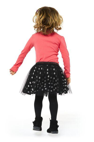 kinderrok zwart/wit 110/116 - 30839434 - HEMA