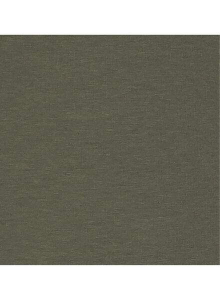 dames t-shirt - biologisch katoen groen groen - 1000005656 - HEMA