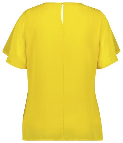 dames top geel M - 36298087 - HEMA