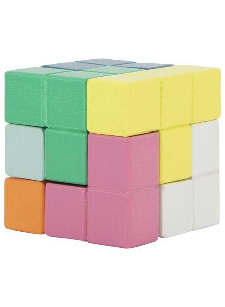 houten puzzel kubus - 15190305 - HEMA