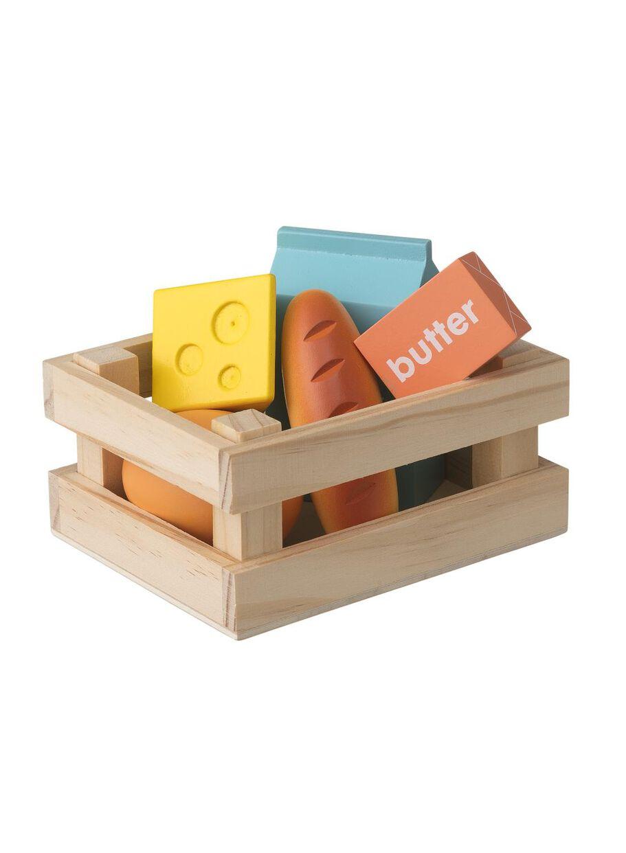 houten boodschappenset