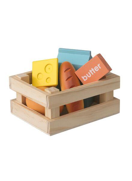 houten boodschappenset - 15122394 - HEMA