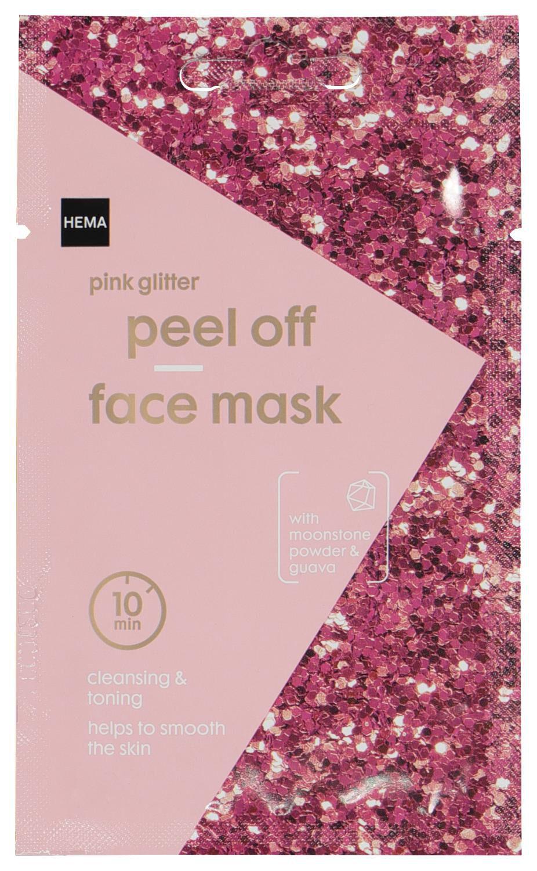 HEMA Masker Peel Off Glitter Roze 10ml