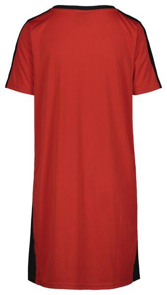 EK voetbal damesjurk rood rood - 1000019651 - HEMA