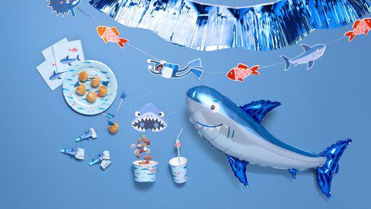 folieslinger - blauw - 3.5 meter - 14200346 - HEMA